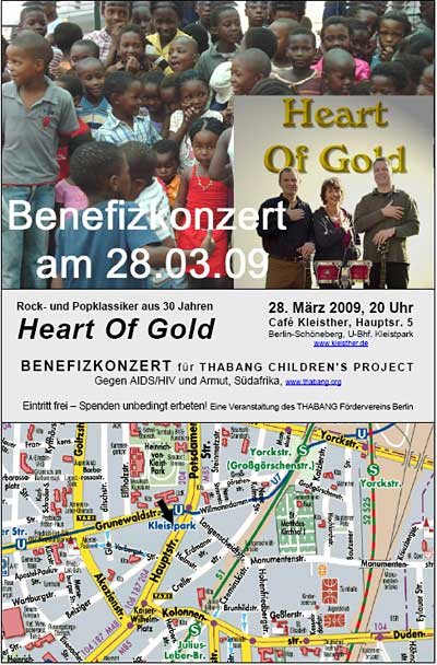 Benefizkonzert Heart of Gold