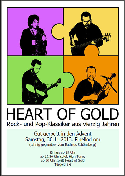 Konzert Heart of Gold